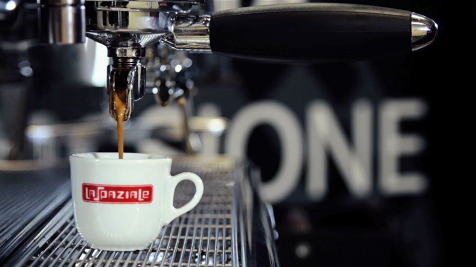 The perfect espresso coffee - La Spaziale