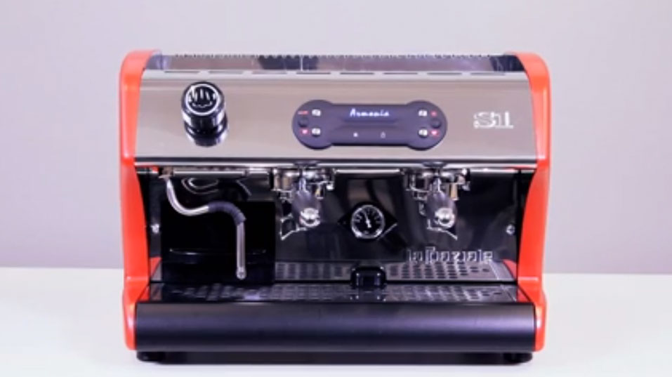 La Spaziale S1 ARMONIA: the professional coffee machine for little volume